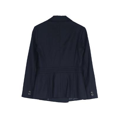 one button jacket navy